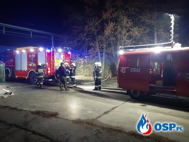 """Ćwiczenia Taktyczno-Bojowe """"OSM Czarnków. Zakład Produkcyjny Chodzież"""". OSP Ochotnicza Straż Pożarna"""