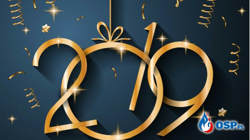 Życzenia noworoczne OSP Ochotnicza Straż Pożarna