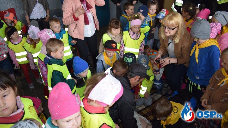 Wizyta dzieci z przedszkola nr 17 im. Jana Pawła II w Żorach c.d. OSP Ochotnicza Straż Pożarna