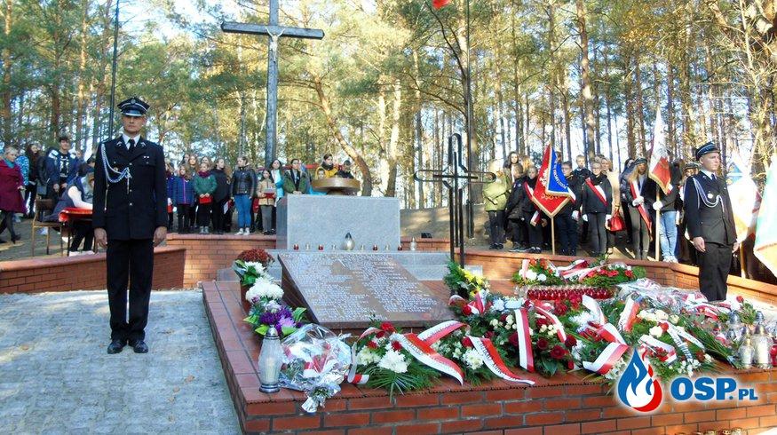 79 rocznica zbrodni hitlerowskiej na Wzgórzach Morzewskich OSP Ochotnicza Straż Pożarna