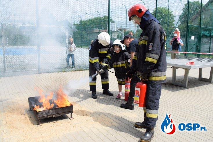 Piknik przy Szkole Podstawowej nr 169 na Złotnie OSP Ochotnicza Straż Pożarna