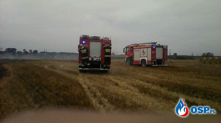 Zerwana linia energetyczna przyczyną pożaru  OSP Ochotnicza Straż Pożarna