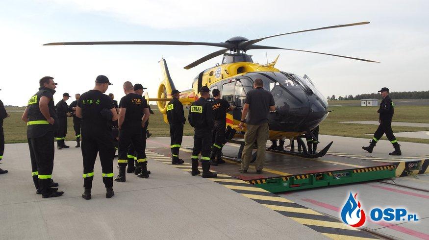 Współdziałanie z Lotniczym Pogotowiem Ratunkowym. OSP Ochotnicza Straż Pożarna