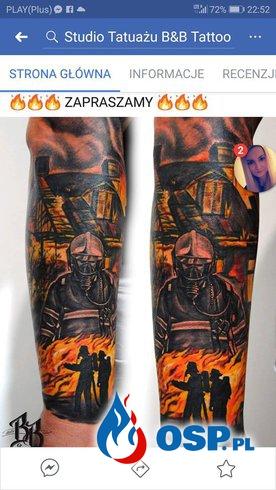 Strazackie Tatuaze Zobacz Inspiracje Na Dziare Dla Strazaka Zdjecia