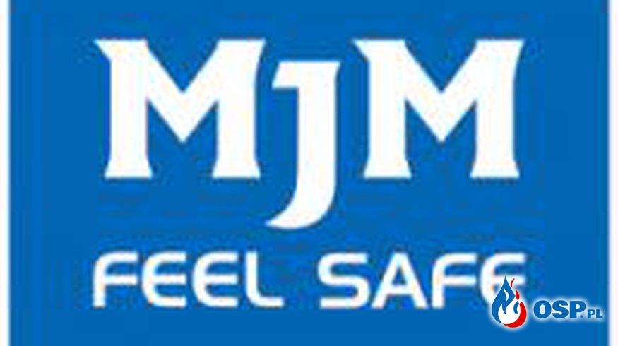 MJM FEEL SAFE - kolejnym sponsorem OSP Białe Błota OSP Ochotnicza Straż Pożarna