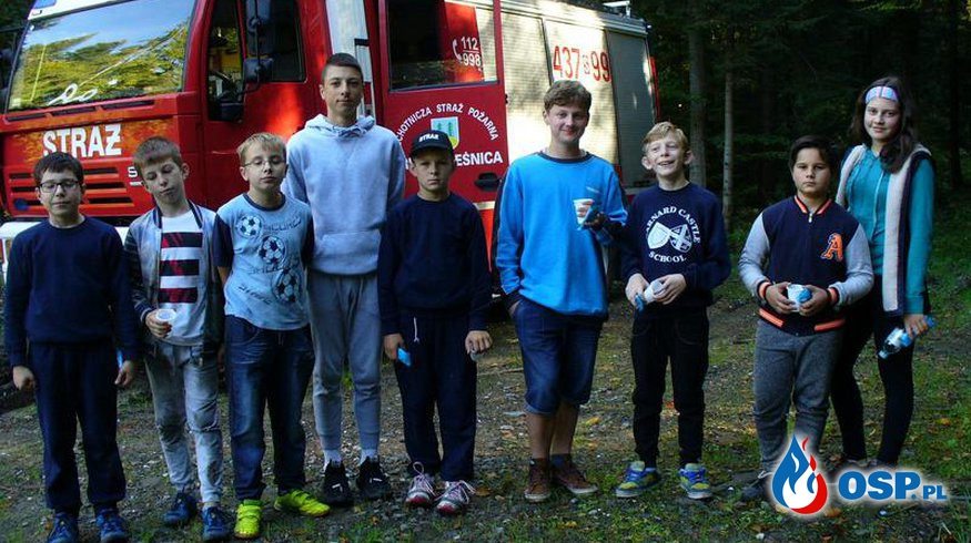 Ćwiczenia MDP- chłopców OSP Ochotnicza Straż Pożarna