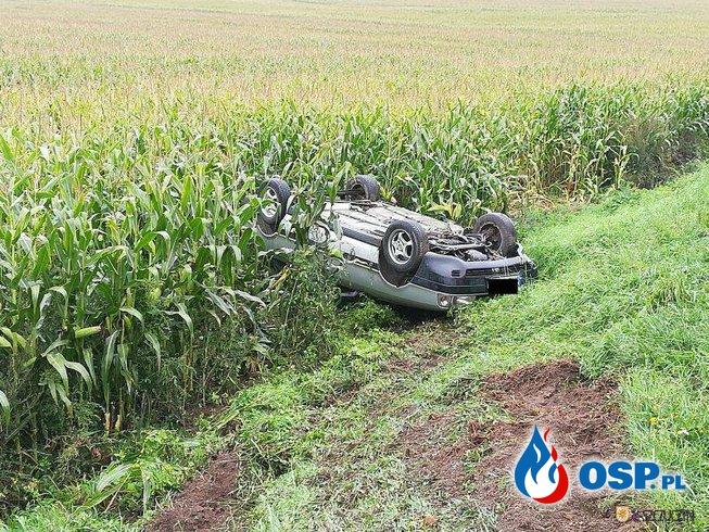 Wypadek na DK58 OSP Ochotnicza Straż Pożarna