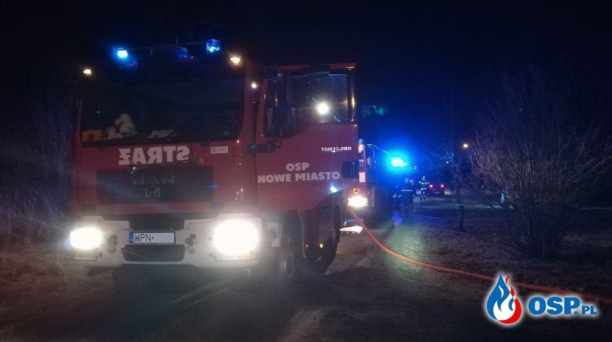 Pożar garażu OSP Ochotnicza Straż Pożarna