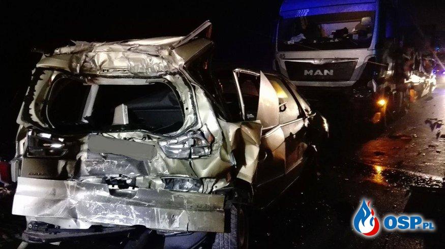Śmiertelny wypadek na Autostradzie A2 OSP Ochotnicza Straż Pożarna