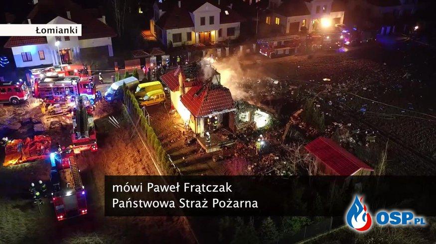 Sylwester w Polsce. Ponad 2000 interwencji, ponad 1000 pożarów! OSP Ochotnicza Straż Pożarna