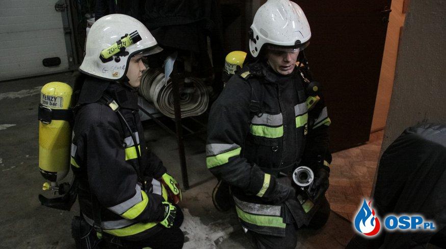 Zajęcia z młodzieżą OSP OSP Ochotnicza Straż Pożarna