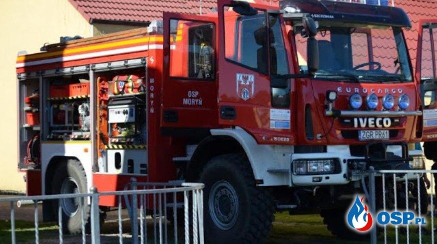 Pożar sadzy w Witnicy OSP Ochotnicza Straż Pożarna
