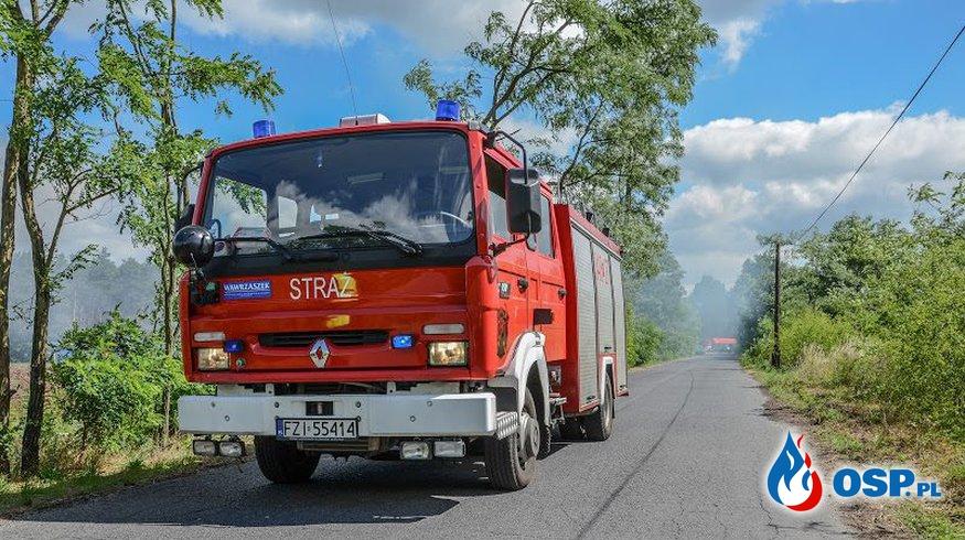 Ćwiczenia w Czerwieńsku OSP Ochotnicza Straż Pożarna