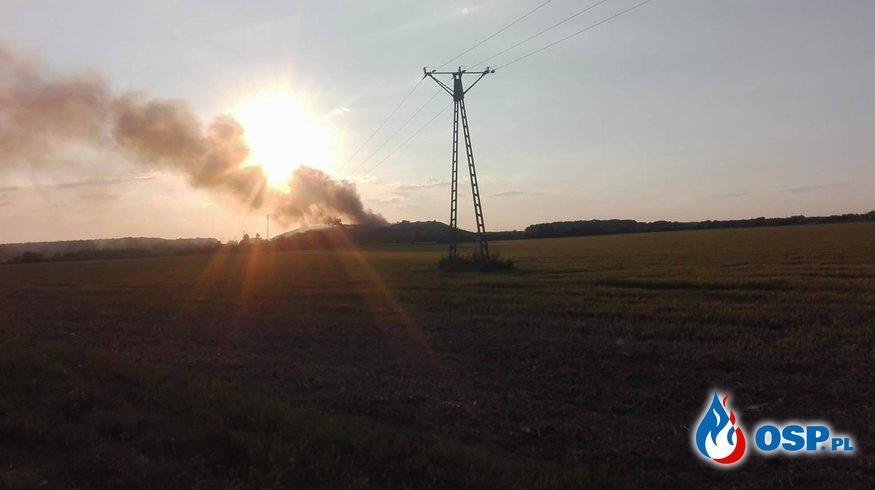 27.08.2017 Pożar wysypiska śmieci  OSP Ochotnicza Straż Pożarna