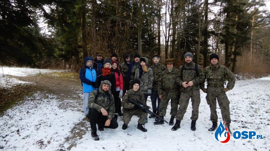Druhowie na szlaku żołnierzy AK OP-11 OSP Ochotnicza Straż Pożarna