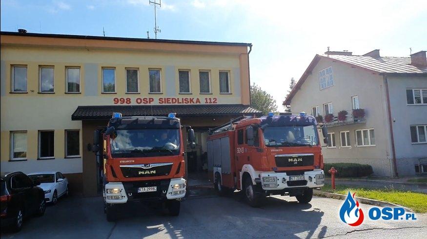 Oddaliśmy hołd Powstańcom Warszawskim OSP Ochotnicza Straż Pożarna