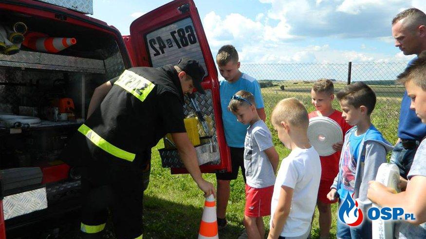 Pierwsze ćwiczenia MDP w Gulzowie. OSP Ochotnicza Straż Pożarna