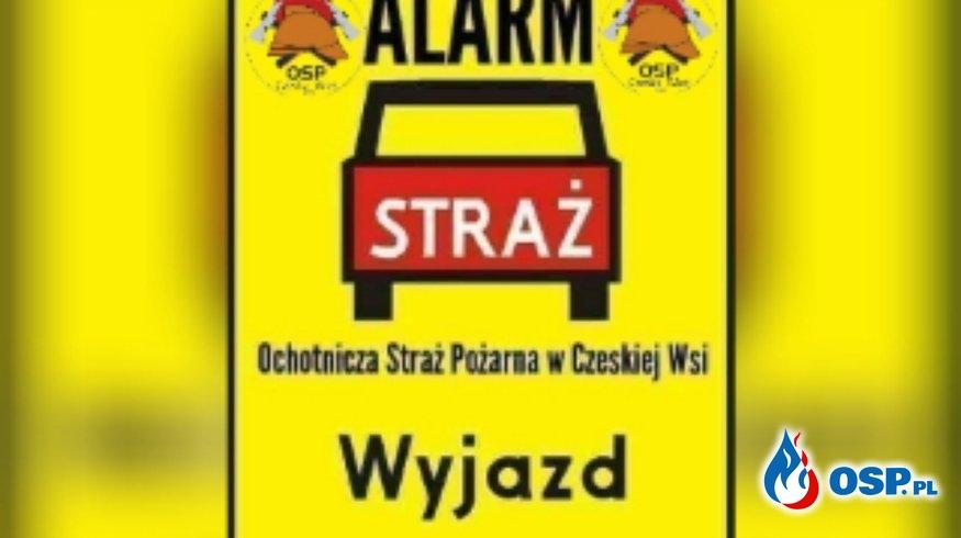 #02/2020# Pożar komina w Michałowie OSP Ochotnicza Straż Pożarna