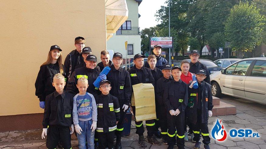 Akcja sprzątania świata OSP Ochotnicza Straż Pożarna
