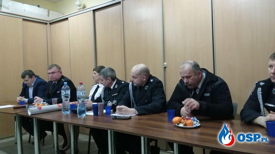 Zebranie sprawozdawcze OSP OSP Ochotnicza Straż Pożarna