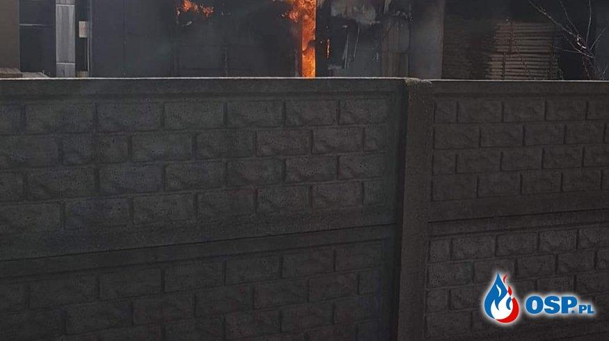 Pożar suszarni w tartaku OSP Ochotnicza Straż Pożarna