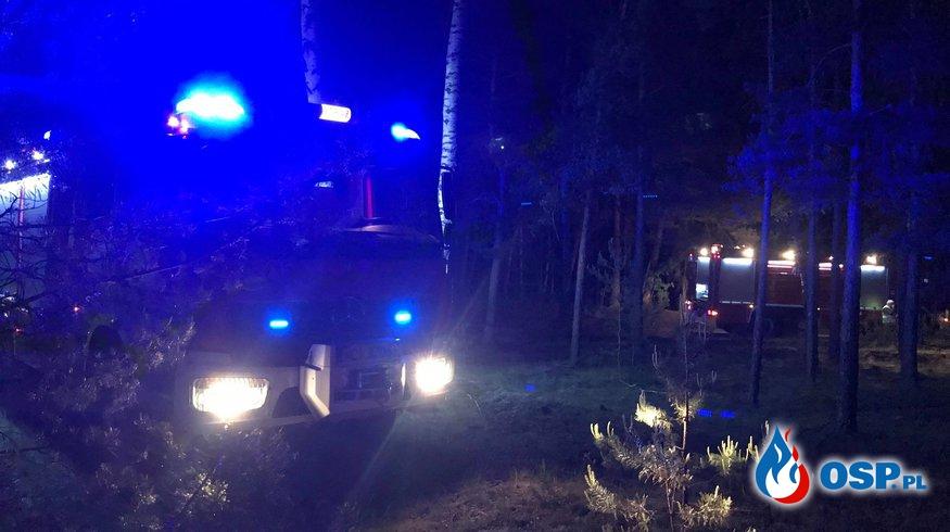 Dwa pożary w jednym lesie - Juliszewo OSP Ochotnicza Straż Pożarna
