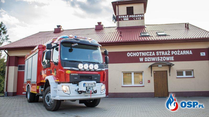 Źródła dofinansowania nowego samochodu dla OSP Dziwiszów! OSP Ochotnicza Straż Pożarna