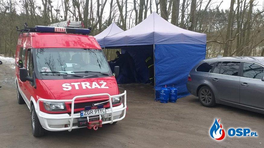 """Wspieramy nasze KGW """"Szafir"""" Krzywin OSP Ochotnicza Straż Pożarna"""