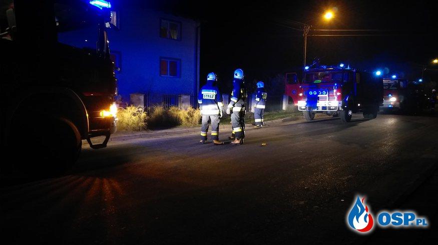 Pożar poddasza - Podbielsko OSP Ochotnicza Straż Pożarna