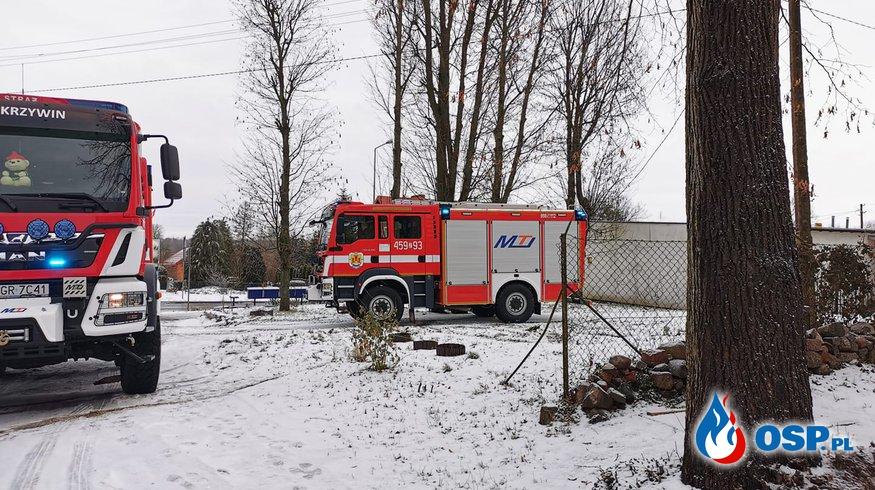 Kolejny wyjazd w obrębie remizy. OSP Ochotnicza Straż Pożarna