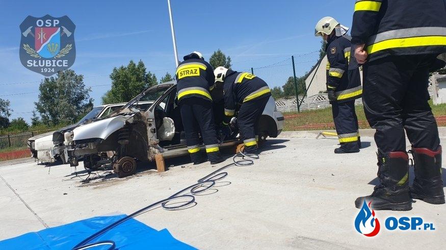 Szkolenie doskonalące strażaków ratowników OSP Ochotnicza Straż Pożarna