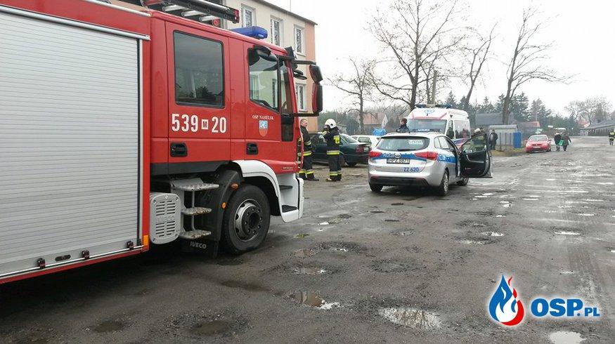 Zadymienie w mieszkaniu OSP Ochotnicza Straż Pożarna