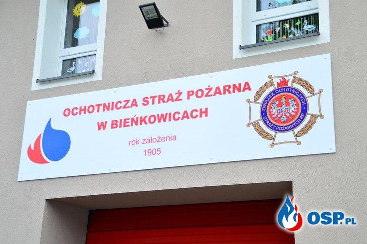 Jubileusz 110-lecia powstania Ochotniczej Straży Pożarnej w Bieńkowicach  9 maj 2015r. OSP Ochotnicza Straż Pożarna