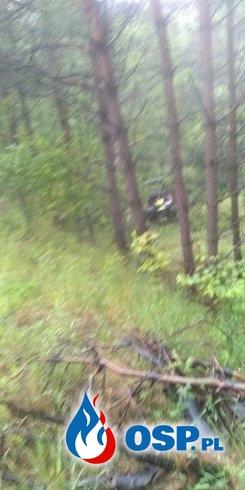 Młody kierowca zginął w wypadku. Jego pasażerka twierdzi, że chciał się zabić. OSP Ochotnicza Straż Pożarna