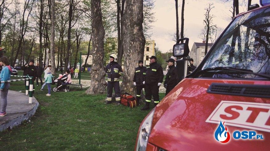 Pokazy w Parku Watra OSP Ochotnicza Straż Pożarna