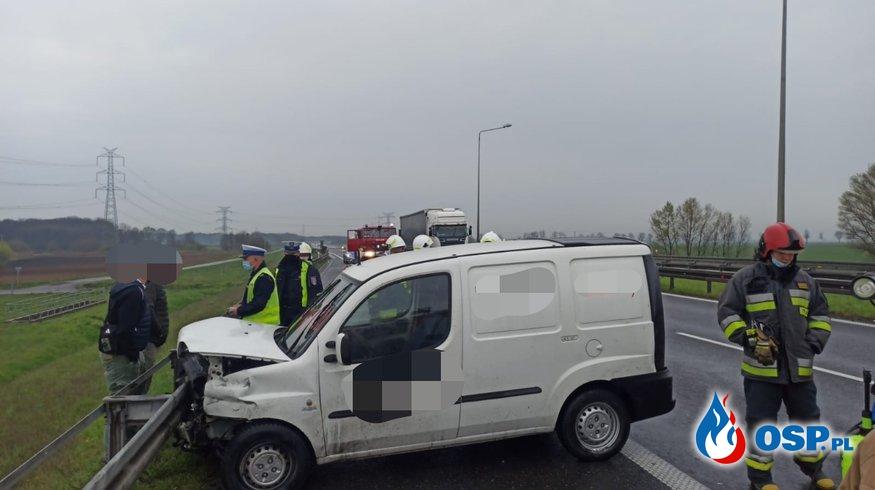 10/2021 01.05.2021 Zdarzenie na 200 km Autostrady A4 w kierunku Katowic OSP Ochotnicza Straż Pożarna