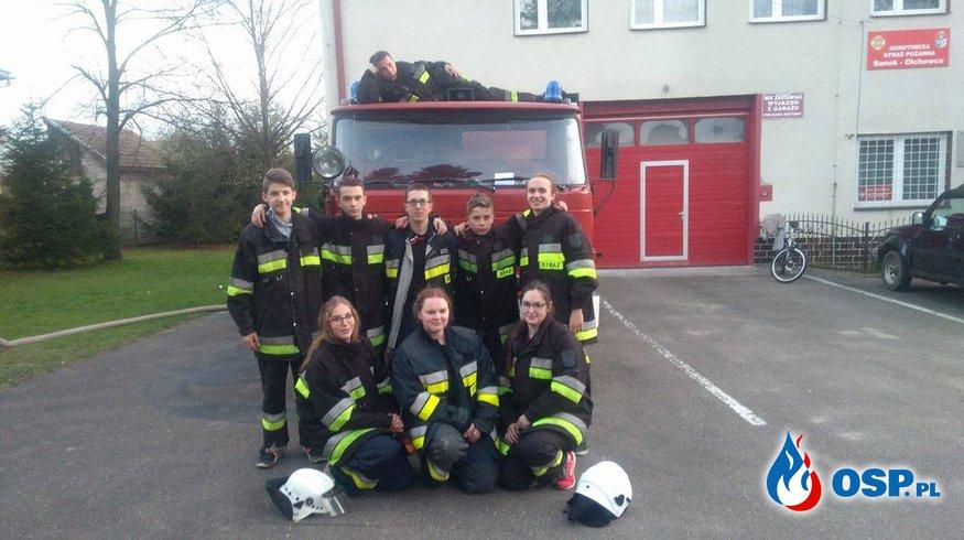 Młodzież zmęczona, ale z nowymi doświadczeniami wróciła do domów OSP Ochotnicza Straż Pożarna