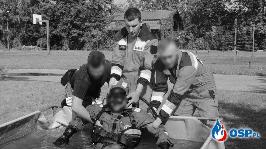 Po śmierci Macieja Ciunowicza. Rodzina strażaka wydała oświadczenie. OSP Ochotnicza Straż Pożarna