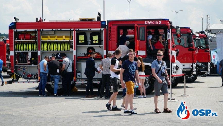 Rekordowa frekwencja na IFRE. Wiadomo, ile osób odwiedziło targi. OSP Ochotnicza Straż Pożarna