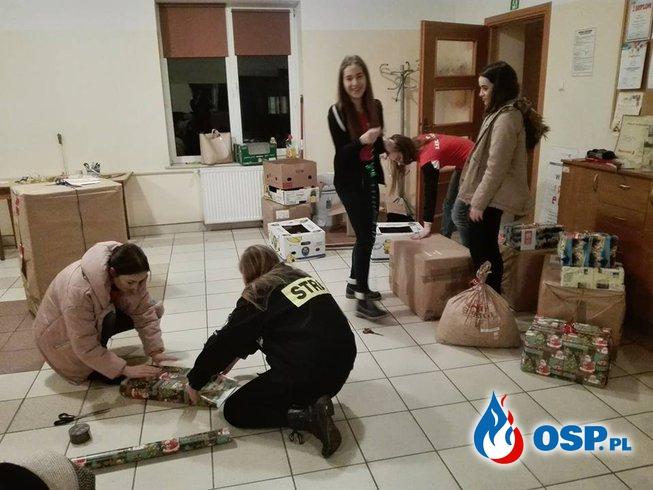 Szlachetna paczka 2017 OSP Ochotnicza Straż Pożarna