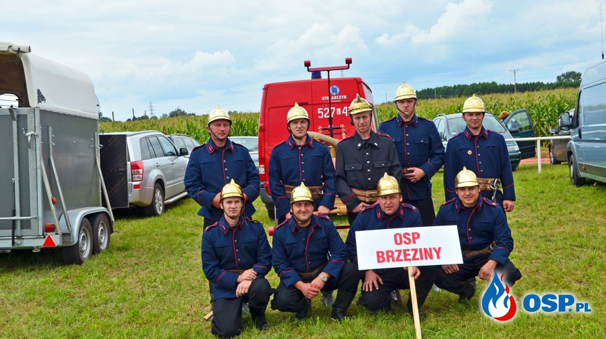 XVI Krajowe Zawody Sikawek Konnych - Śmigiel 14.08.2016 r. OSP Ochotnicza Straż Pożarna