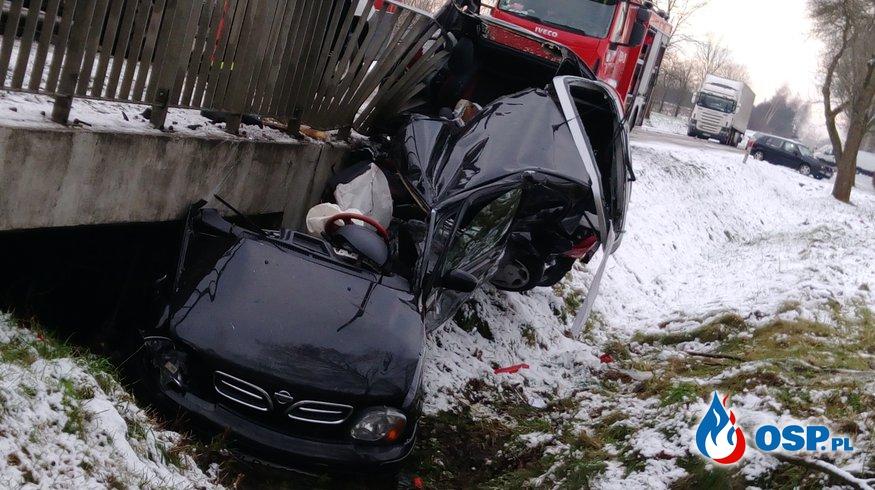 Niebezpieczne zdarzenie OSP Ochotnicza Straż Pożarna