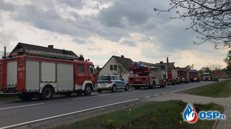 Kobieta wpadła do studni OSP Ochotnicza Straż Pożarna