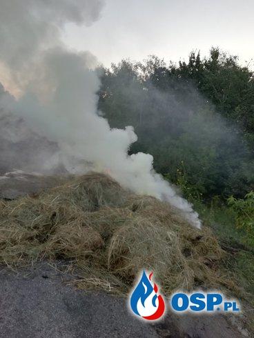 Pożar beli na drodze OSP Ochotnicza Straż Pożarna