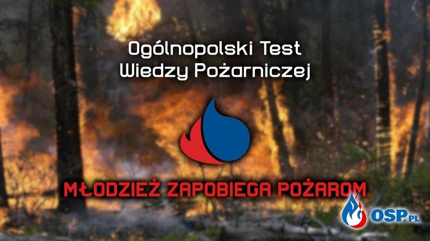 Test Wiedzy Pożarniczej 2020 OSP Ochotnicza Straż Pożarna