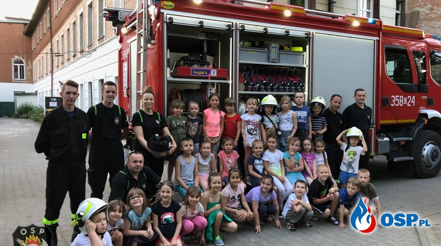 """Strażacy podczas """"Zielonej Nocy"""" w Przedszkolach! OSP Ochotnicza Straż Pożarna"""