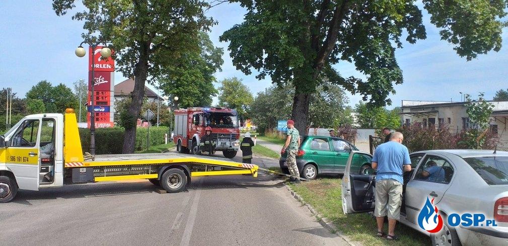 Wypadek Kępice 19.07.2019r OSP Ochotnicza Straż Pożarna