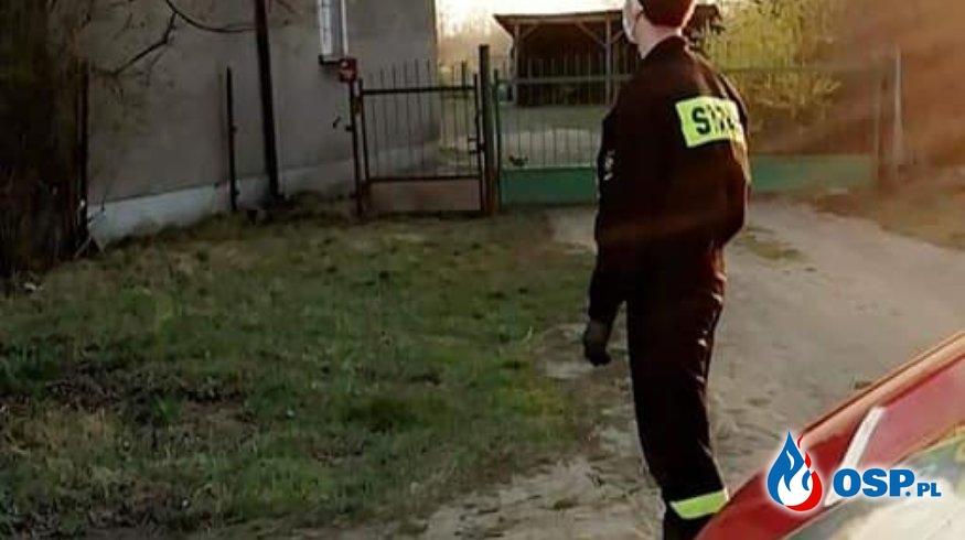Dostarczanie wielorazowych maseczek na terenie Gminy Płońsk OSP Ochotnicza Straż Pożarna
