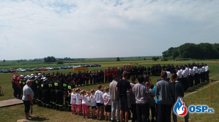 Gminne zawody sportowo - pożarnicze OSP Ochotnicza Straż Pożarna