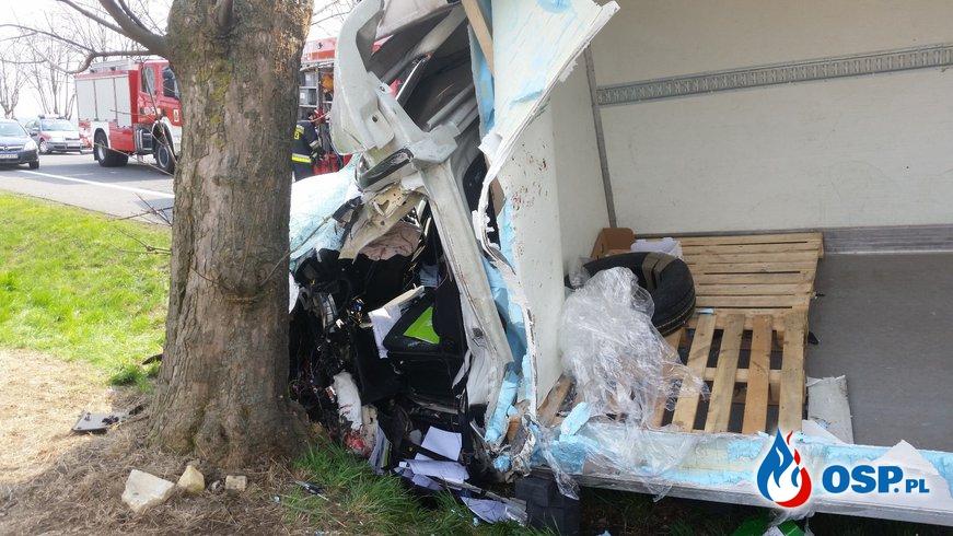 Poważny wypadek na DK 94 OSP Ochotnicza Straż Pożarna
